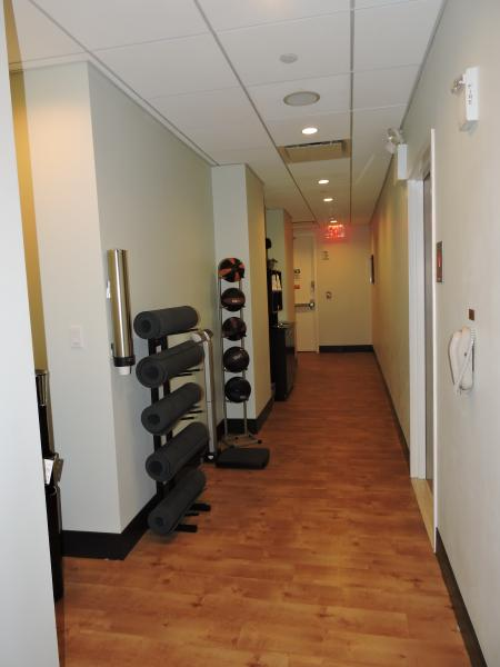 Exercise Room. Weights