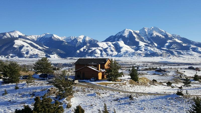 Incredible view of Ranch Home and Emigrant Peak in Paradise Valley