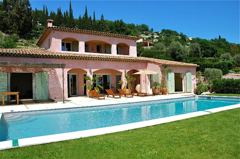 Villa Paradise, a holiday home with private pool on the French Riviera at Vence