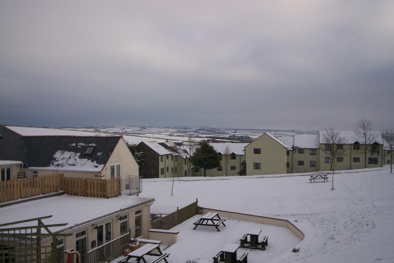 View towards Exmoor Christmas 2010