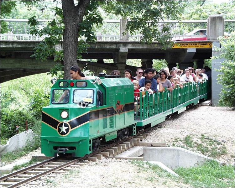 The Zilker park train - fun for the entire family!
