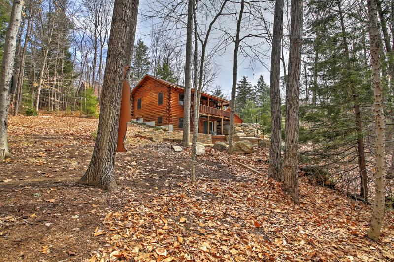 Amerai il paesaggio splendido bosco che circonda la proprietà!