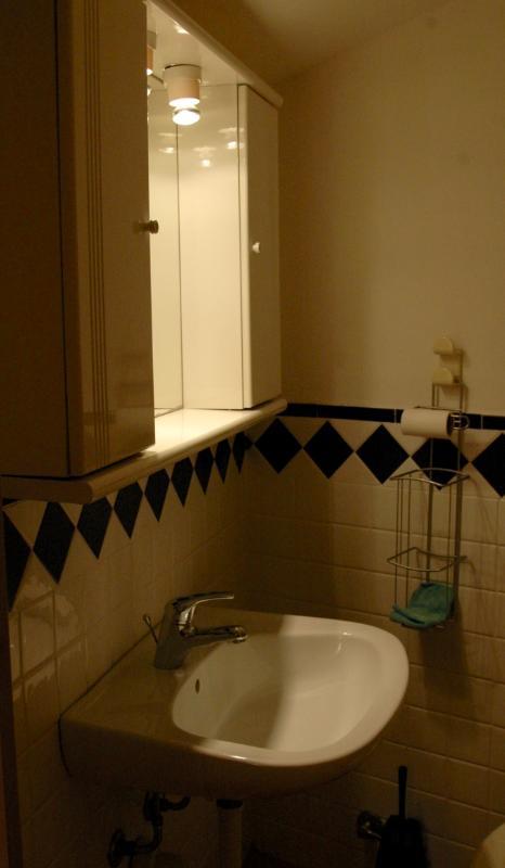 upstairs toilette