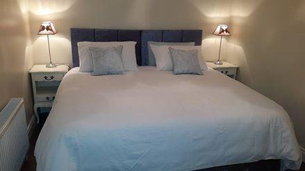 Large bedroom with option of 1 super-king bed or 2 single beds.