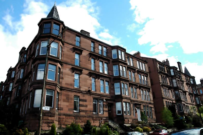 External view of Glasgow Tenement