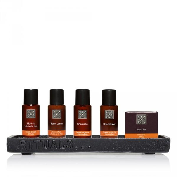 Rituals amenities are provided