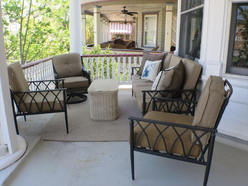 Front Porch Comfortable Seating