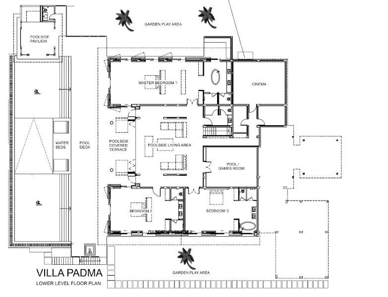 Villa Padma Phuket - Floor Plan