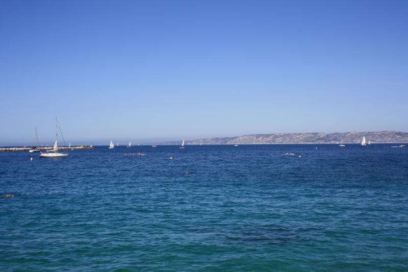 plage des catalans 5mn a pieds