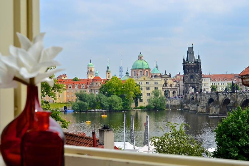 View from Master bedroom (Charles bridge)