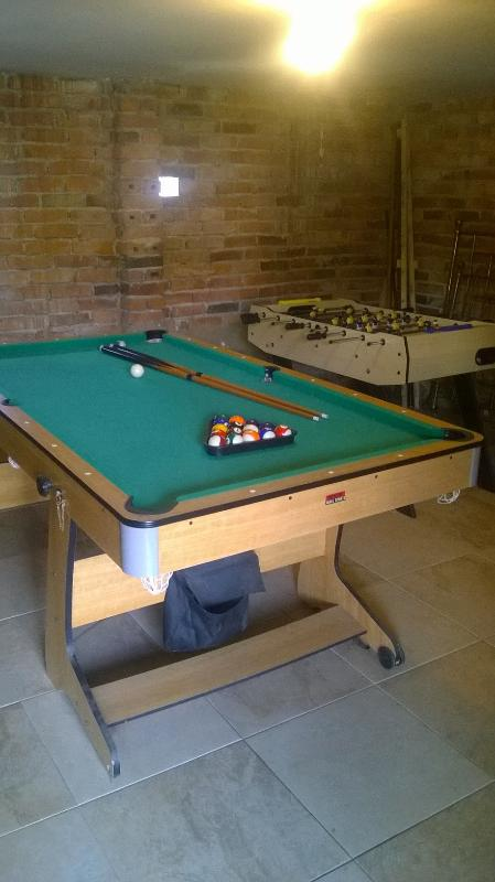 Our games room...