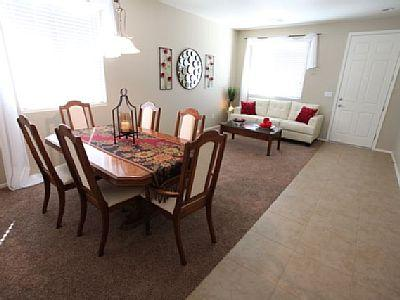 Formal living and dining area.