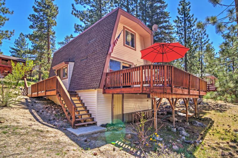 Have the ultimate Big Bear getaway by staying at this charming Fawnskin, California vacation rental cabin!