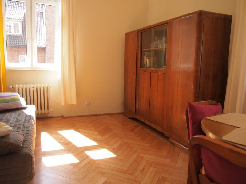 Yes, it is the bright and sunny apartment!
