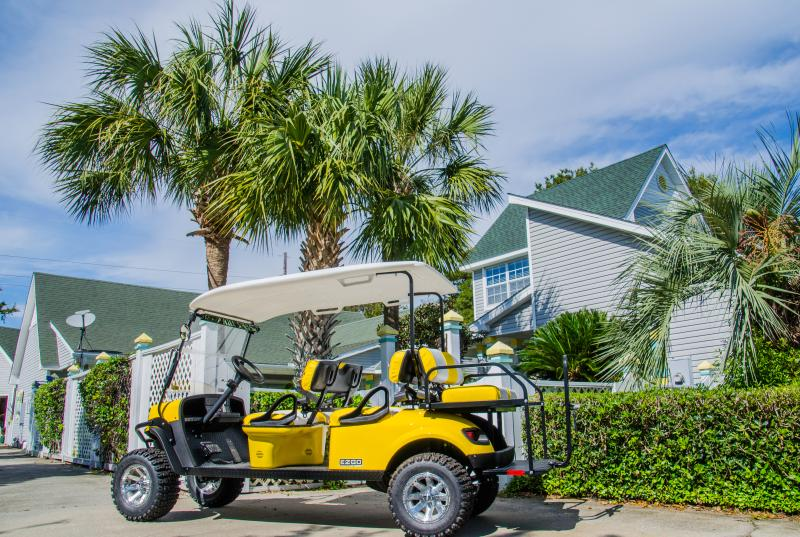 6 Seater Golf Cart incl in Off Season Rentals-Optional to Rent Spg Break/Summer