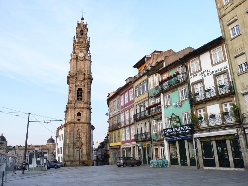 Torre dos Clerigos (5 minutes walk)