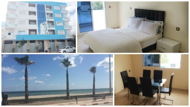 Modern 3 bedroom New apartment 5 min walk to beach, holiday rental in Tanger-Tetouan-Al Hoceïma