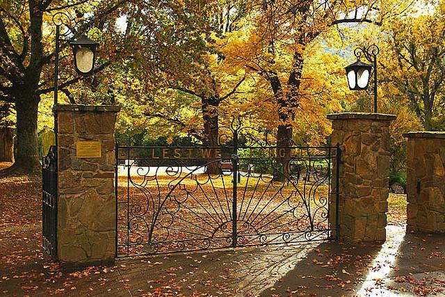 Memorial Park in the Autumn