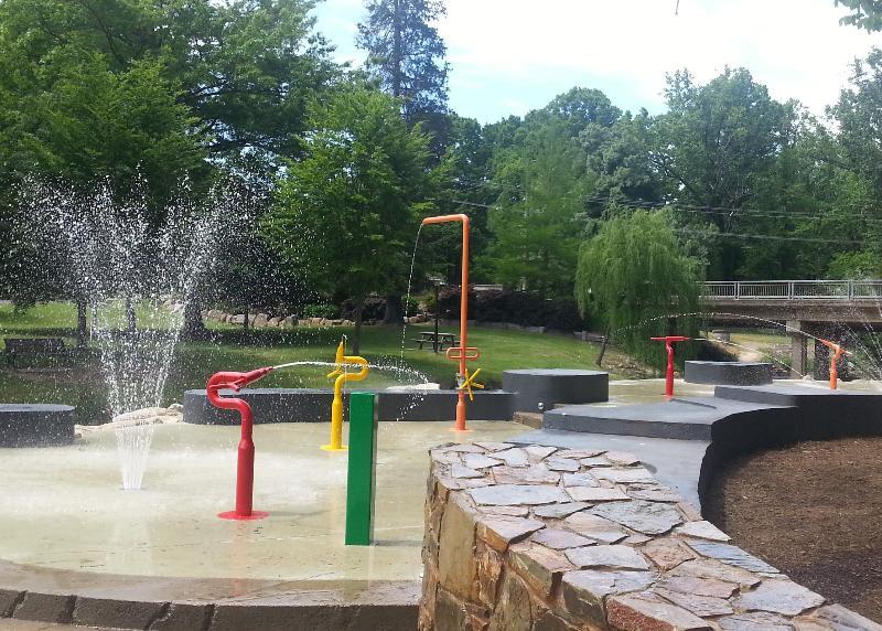 Summer fun at the Splash Park