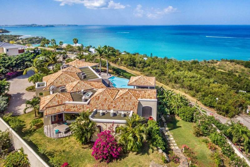 Happy Bay Villa, 4BR vacation rental in Happy Bay, St Martin