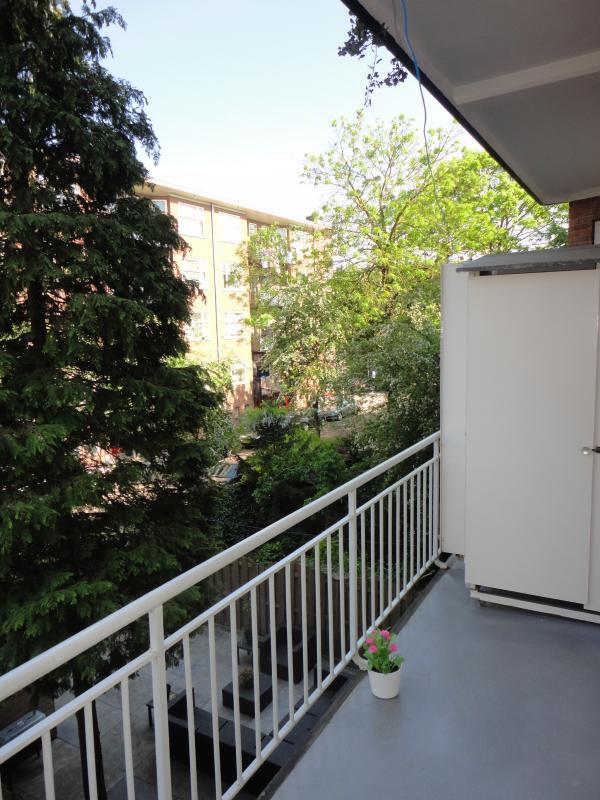 2nd balcony (backside)