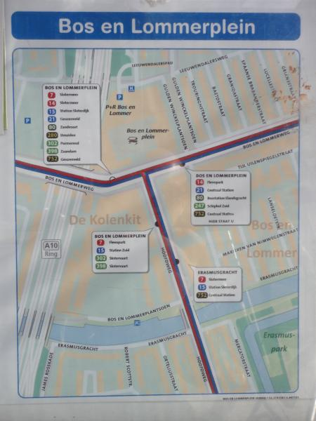 public transportation stops within 250m