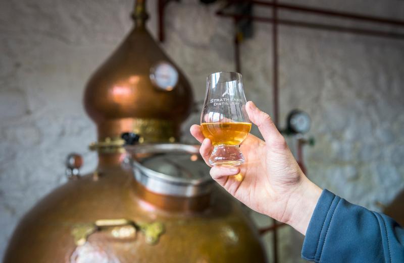 Scottish whisky touring