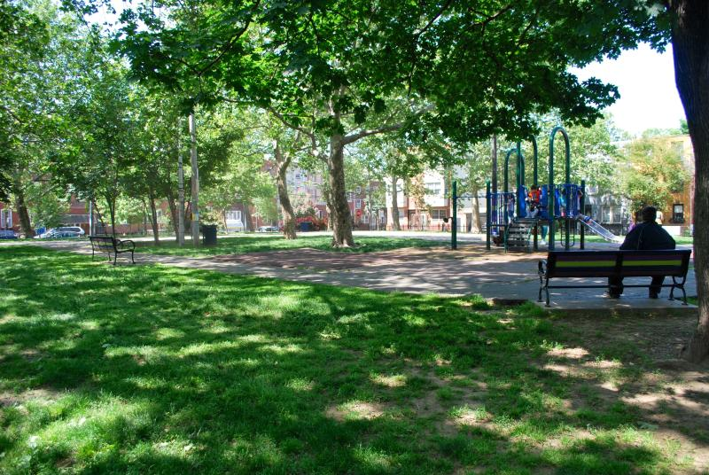 Gold Star Park - One Half Block Away