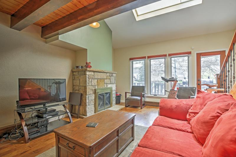 Enjoy a restful stay at this Vail vacation rental townhome.