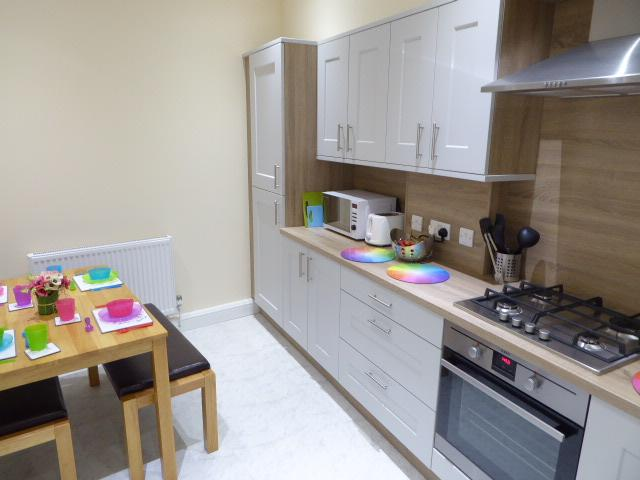 Well equipped appliances including dishwasher