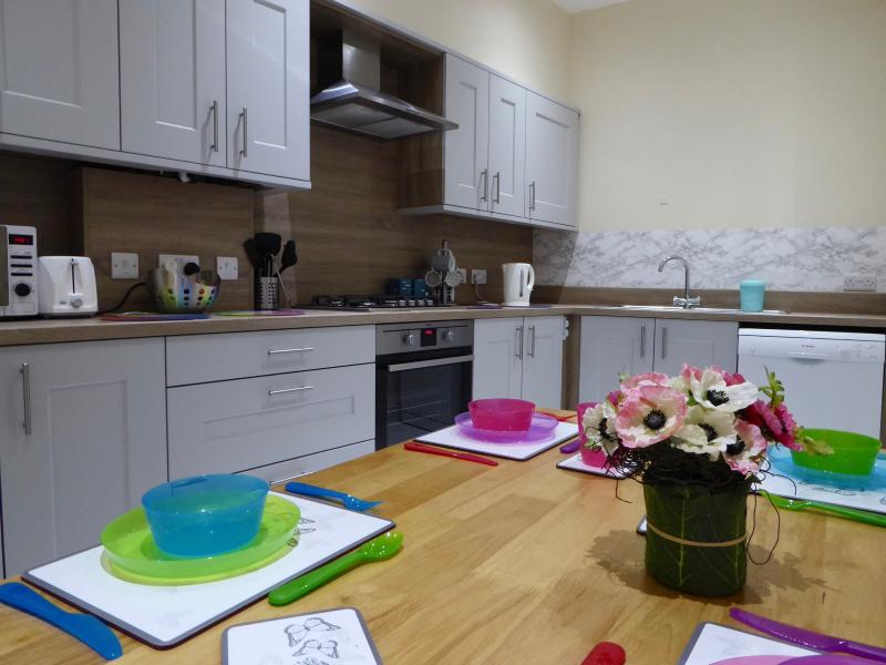 Additional seating in kitchen