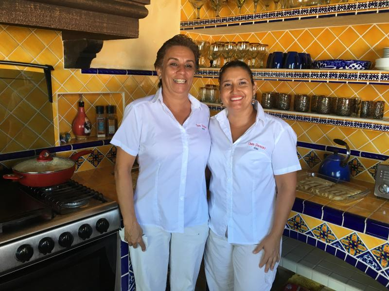 Your staff, Triny and Rosario, will make amazing meals for you and provide housekeeping duties.