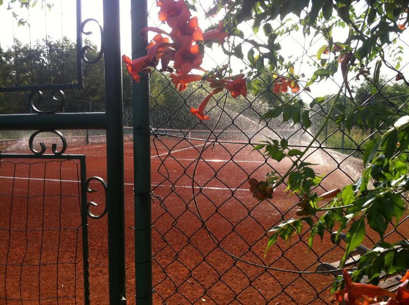 PRIVATE TENNIS COURT