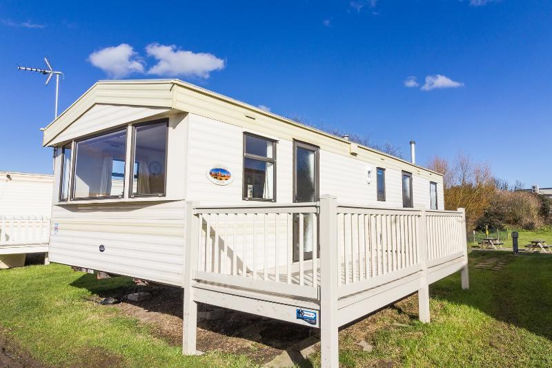 8 berth caravan for hire at Kessingland Beach Park Resort