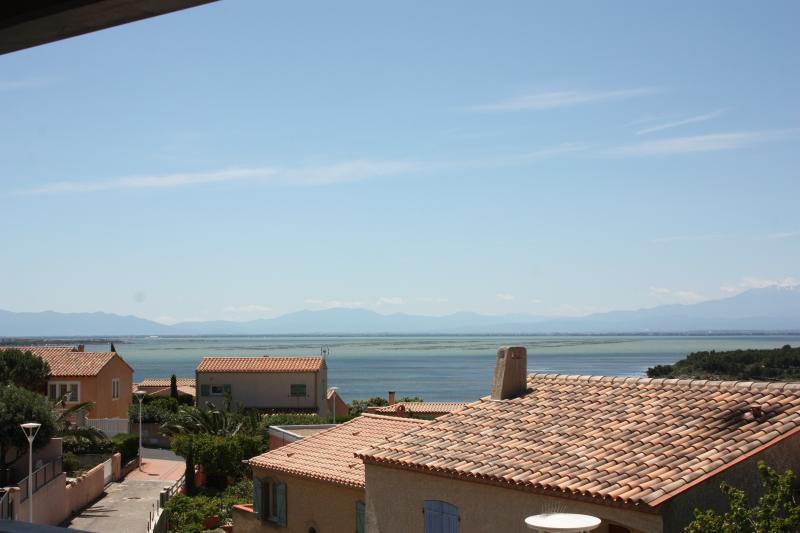 Belle villa, grande terrasse vue sur l'étang, holiday rental in Leucate