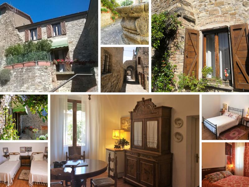 The Ancient Well is a 3bdr House in the heart of Val d'Orcia.