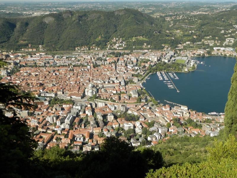 Como view from Brunate (not from the house)