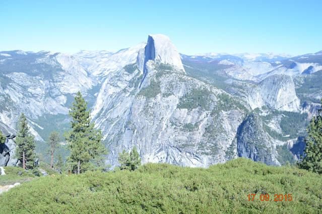 Halfdome view from Glacier Point