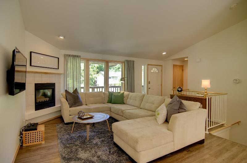Living room and ample seating
