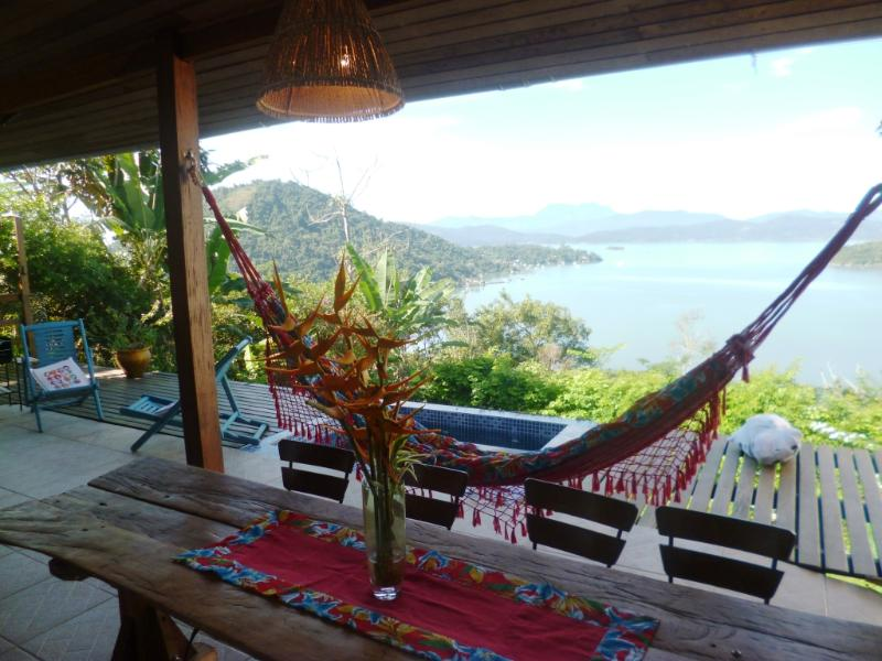 Breathtaking views house in Paraty, Ferienwohnung in Paraty