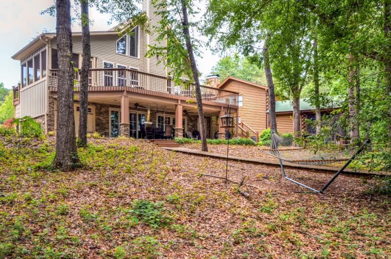 Come escape to this wonderful Westminster vacation rental house on Hartwell Lake!
