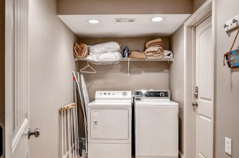 Laundry machines provide the utmost convenience.
