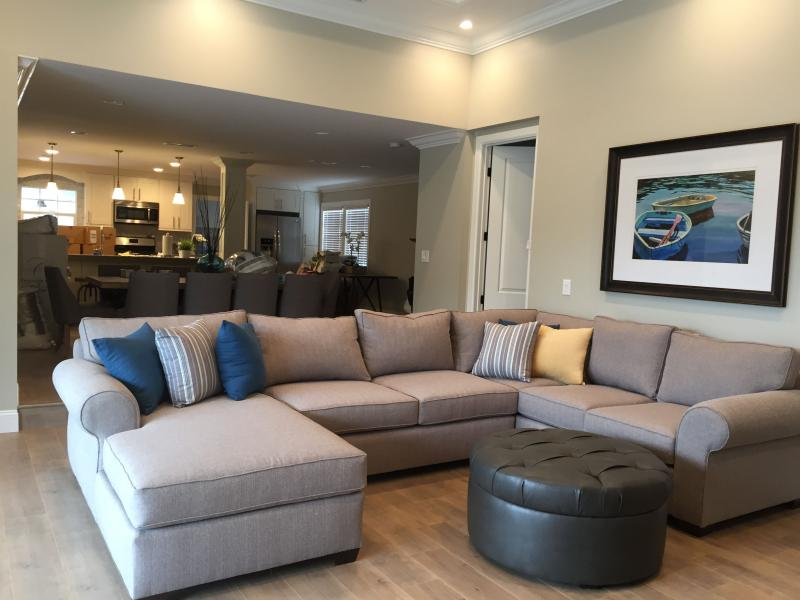 Family Room w/Sleeper Sofa