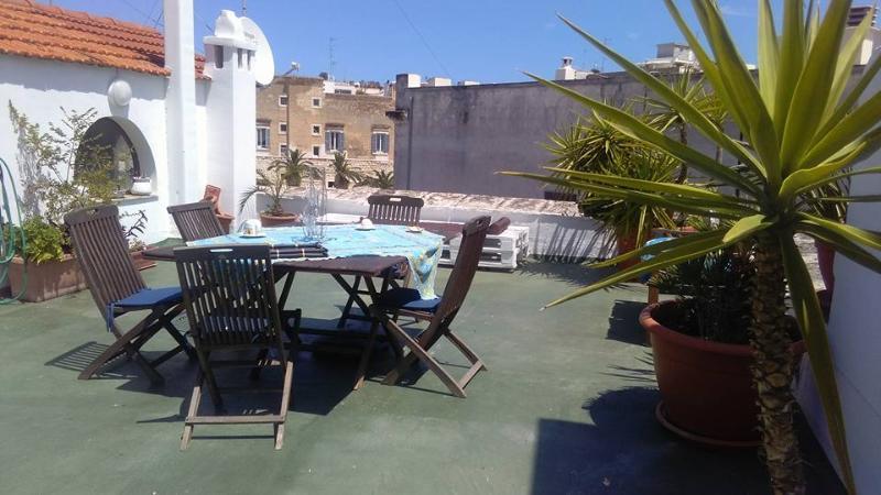 terrazza panoramica ad uso esclusivo degli ospiti del Gabbiano