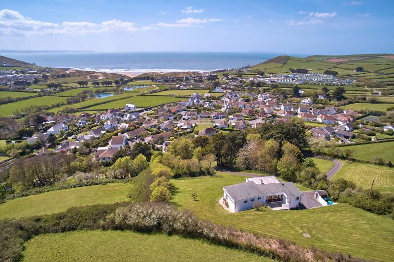 Croyde Holiday Cottages Luckenborough Aeriel