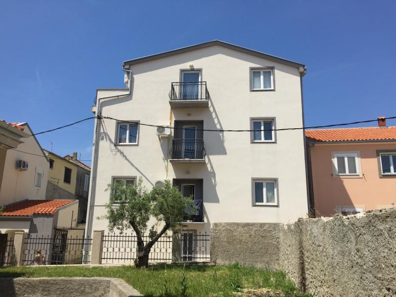 House in the city center situated close to the bus station.