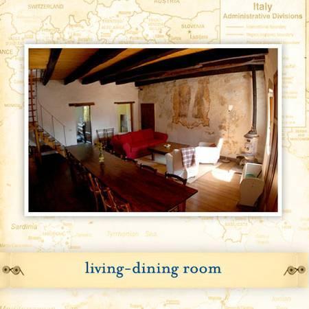 Vitiana Casa - A rustic 3BR / 2 BA medieval home, holiday rental in San Romano