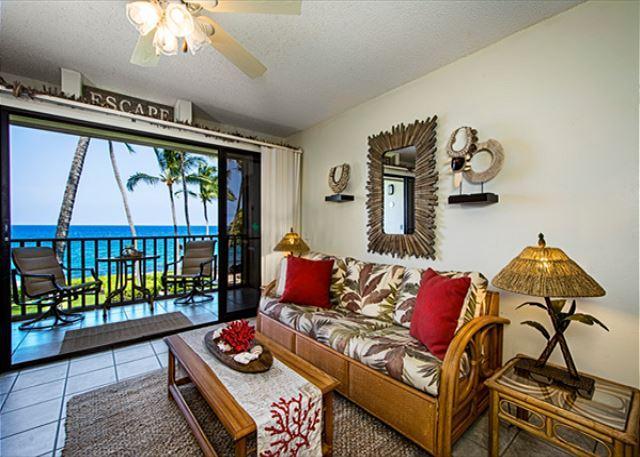Kona Isle E23 DIRECT OCEAN FRONT, Wifi, 2nd floor, Gorgeous 1/1, location de vacances à Kailua-Kona