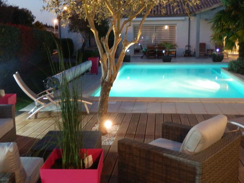 La Rivagerie - chambres d'hôtes - piscine et terrasse