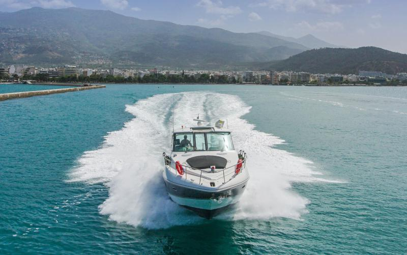 Charter Yacht Themis iv, port Skiathos and port Volos